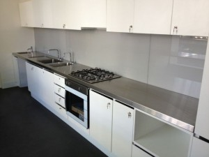 Geelong Stainless Steel Benchtops and Stainless Steel Sinks
